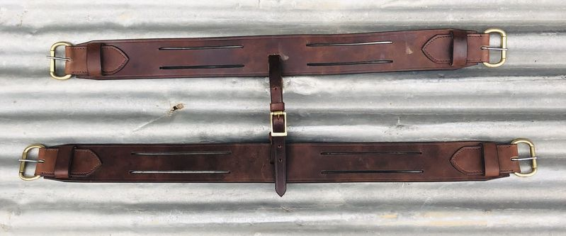 Horse Pack saddle complete with Leather bags and pack harness