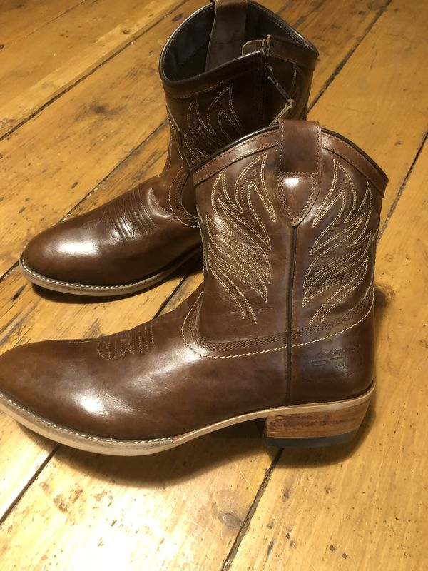 NEW  Womens Fire andamp Fearless western Ankle Boots  Shoes uk size 6
