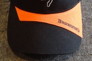 BROWNING CAP ONE SIZE FITS MOST NEW