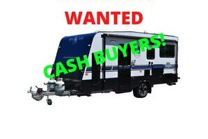 CARAVANS WANTED!!!