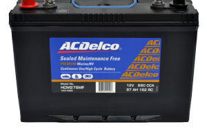 HCM27SMF ACDelco HIGH CYCLE MARINE BATTERY