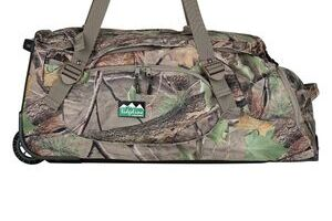 Ridgeline Grunt Wheelie Bag Nature Green Camo 80L
